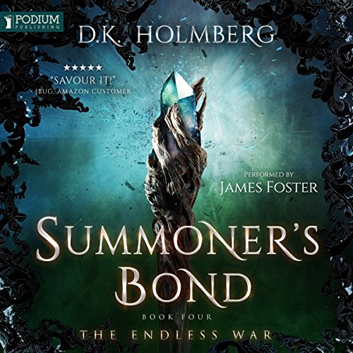 Summoner's Bond audiobook cover art