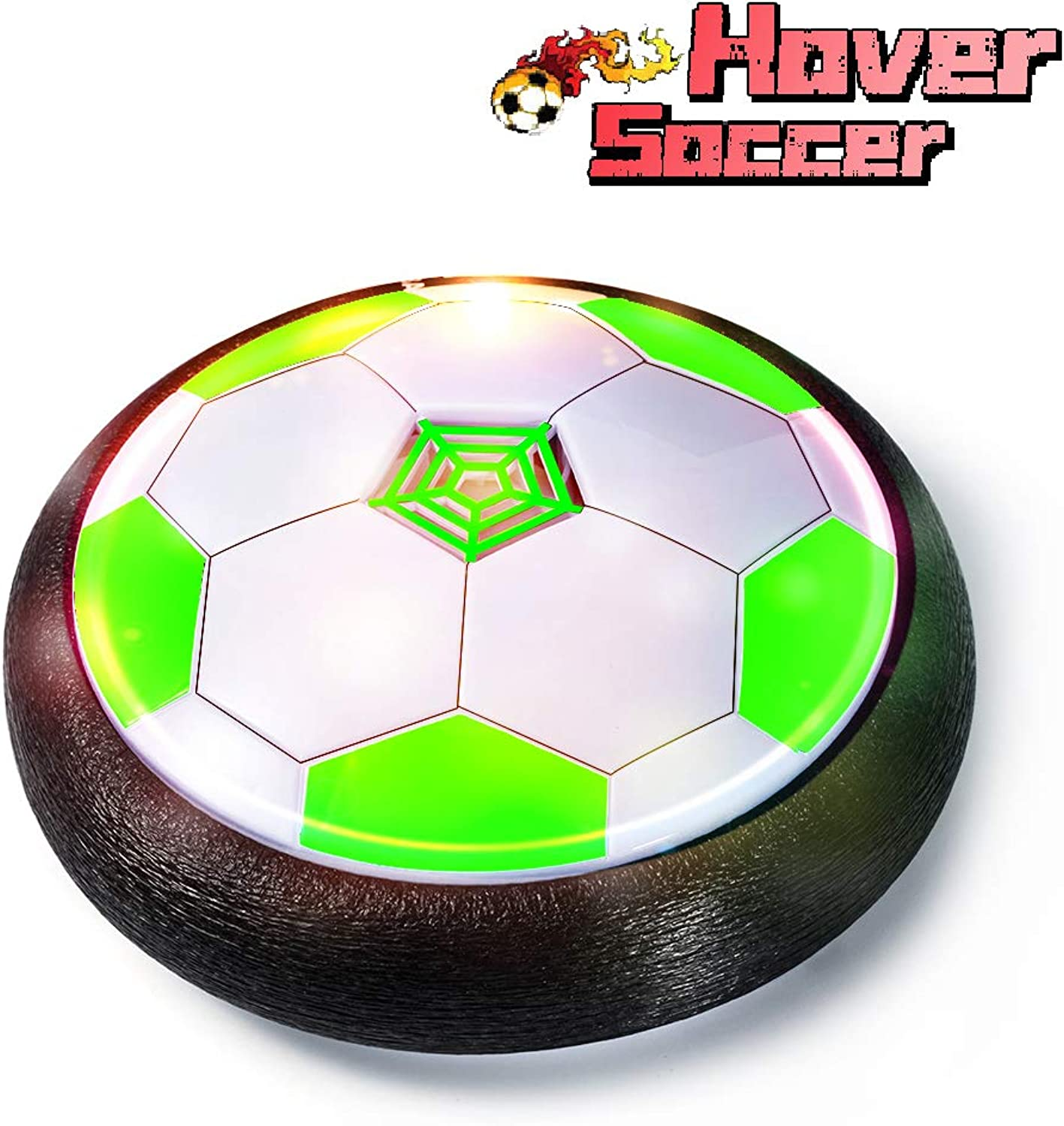 LOFEE Popular Toys for Kid Age 3-10, Hover Footall for Kids Presents for 4-9 Year Old Boy Toys Age 3-12 Toy for 3-9 Years Old Boys HB-Green
