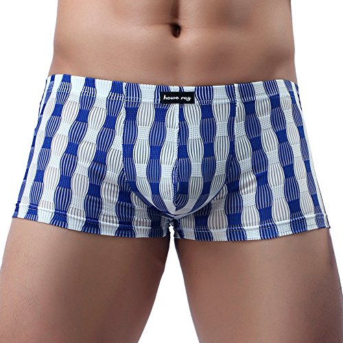 Momoxi Herren Retroshorts Männer Unterwäsche Sexy Atmungsaktiv Atmungsaktiv Nachtwäsche Nachtwäsche