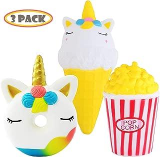 Best unicorn ice cream cone squishy Reviews