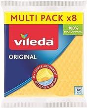 Vileda sponsdoekje, bijzonder hoge zuigkracht, voordeelverpakking met 8 stuks (diverse kleuren)