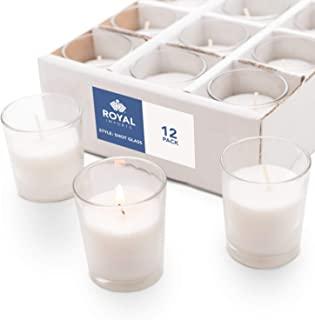 small white candles in bulk