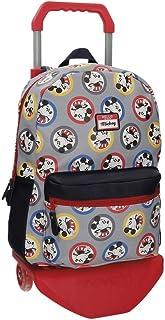 Disney Mickey Circles Sac à dos avec chariot Multicolore 32x42x12 cms Cuir synthétique 19.2L