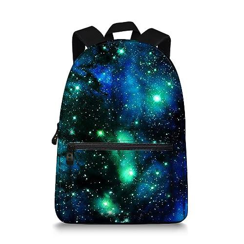 Galaxy Space Print Durale Kids Canvas Bookbag Back to School 04a7939b7595a
