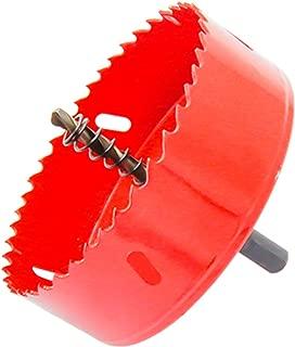 ホールソー バイメタル 穴あけ ドリルビット 切削工具 鉄 アルミ 石膏ボード プラスチック 木材などに 切削直径105mm