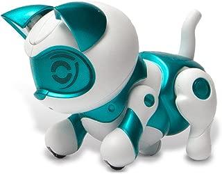 Tekno Newborns Pet Cat Toy Robotic Kitty Interactive Cat That Jumps, Walks And Begs.
