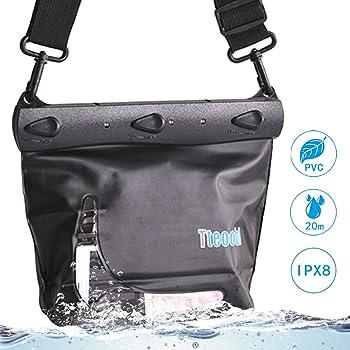 Mercs Tteoobl 防水バッグ 防水ケース プールバッグ Mサイズ ショルダーバッグ IPX8 海水浴 川遊び トラベル アウトドア 防災 プールバッグ 7色