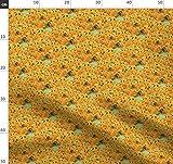 Sonnenblumen, Van Gogh, Blumen, Gelb, Gemalt, Grün Stoffe