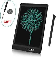 "JZAQ LCD Writing Tablet,Electronic Writing &Drawing Board Doodle Board,8.5"" Handwriting Paper Drawing Tablet Gift for Kids and Adults at Home,School and Office, Black (Black)"
