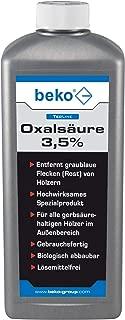 BEKO 299261000 TecLine Oxalsäure 3,5% 1000 ml Flasche