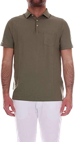 Heritage Homme 0861Pvert Vert Coton Polo