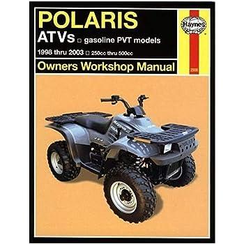 1985-1995 Polaris ATV All 3 4 6 Wheel Drive Repair Service Workshop Manual M496