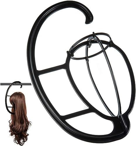 Dreamlover Wig Stand, Hanging Wig Holder, Portable Wig Hanger, 2 Pack