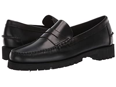 Sebago Dan Waxy Luggage (Black) Men