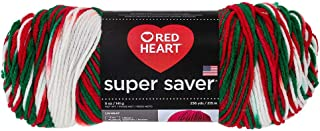 Red Heart Yarn Red Heart Super Saver Yarn 979 Mistletoe, Each, Mistletow