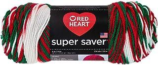 Red Heart Yarn Red Heart Super Saver Yarn 979 Mistletoe, Each, Mistletow