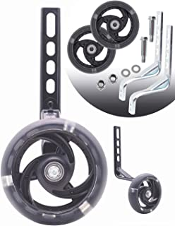 MOLI DEE Training Wheels, Thicken Bike Training Wheels for Kids Under 100lb with Heavy Duty Stainless Steel for 12 14, 16,...