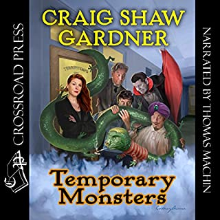 Temporary Monsters audiobook cover art