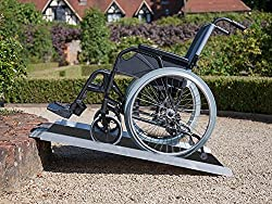 Clevr Non-Skid Aluminum Wheelchair Loading Ramp
