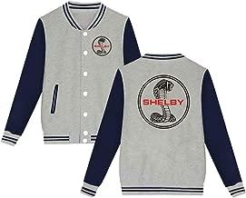 Unisex Ford Mustang SVT Cobra Shelby Velvet Baseball Uniform Jacket Coat Sweater Sweatshirt