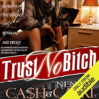Trust No Bitch audiobook cover art
