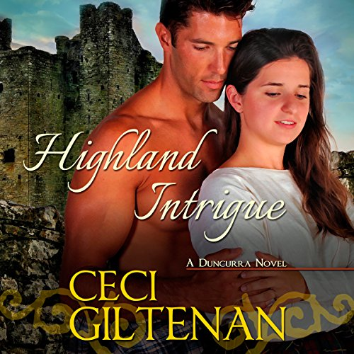 Highland Intrigue audiobook cover art