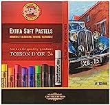 KOH-I-NOOR TOISON D'OR 8552 Extra weiche Künstler-Pastellkreiden