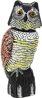 comprar comparacion PrimeMatik - Ahuyentador de Aves Tipo Estatua búho con Ojos Reflectantes 40cm Hembra