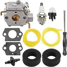 Mannial WT-827 Carburetor Carb fit MTD Ryobi 120R 280 410r 600r 700r 700rVP 704r 704rVP 705r 720r 725r 725rE 750r 765r 766r 767r 770rEB 775r 790r String Trimmer Replace 753-04333