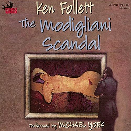 The Modigliani Scandal audiobook cover art