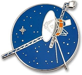Voyager Space Probe Enamel Lapel Pin