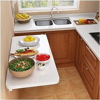 PENGFEI Table Murale Rabattables, Table Murale Rabattables, Table De Cuisine Pliante, Table De Salle À Manger, Bureau d'en...