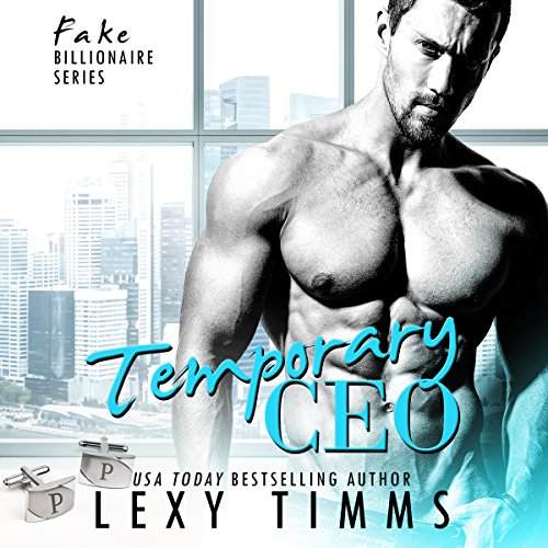 Temporary CEO audiobook cover art