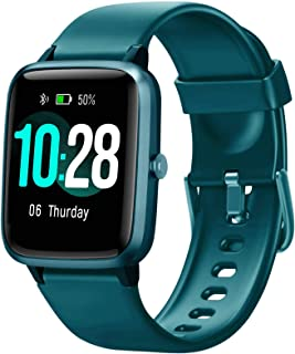 ساعت هوشمند Blackview ، ردیاب تناسب اندام با مانیتور خواب ضربان قلب ، ردیاب فعالیت با صفحه لمسی 1.3 اینچی ، ساعت هوشمند گام شمار ضد آب IP68 ، شمارنده گام برای کودکان ، زنان و مردان