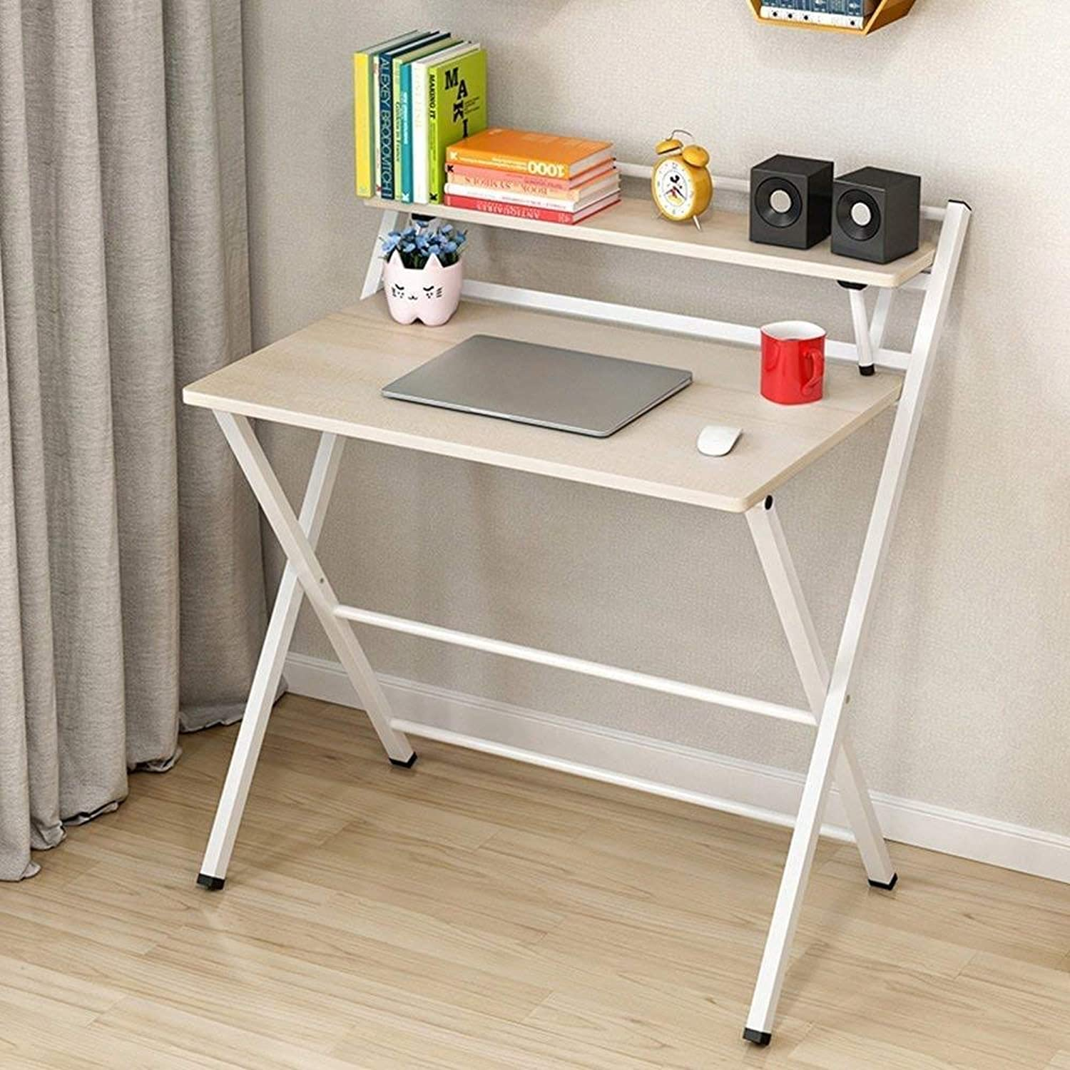 distribución global ADWN Deed Deed Deed Table - Simple Home Fashion Plegable Portátil Escritorio Portátil Estudiante Student Dormitorio Dormitorio Simple Lazy Bed Simple Home,A,Mesa  vendiendo bien en todo el mundo