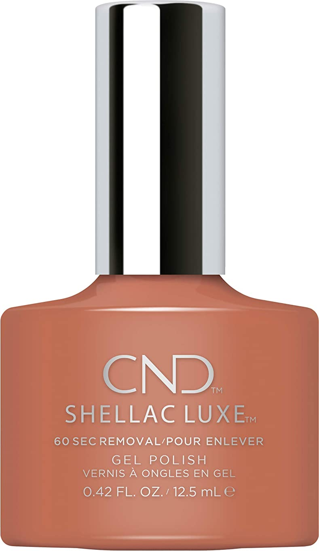 浴グロー不条理CND Shellac Luxe - Boheme - 12.5 ml / 0.42 oz
