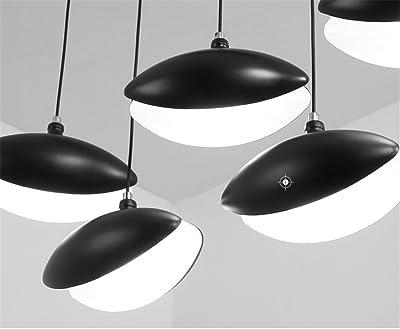 Lustre en fer forgé lampe à suspension 3 lampes en fer forgé lampe