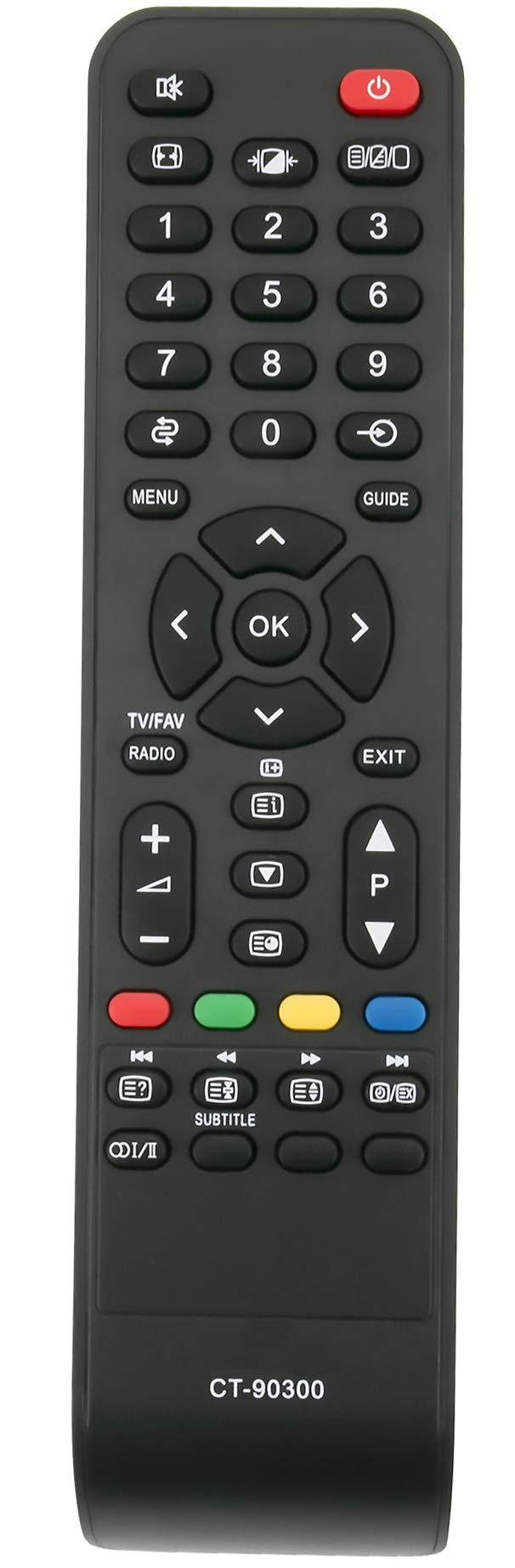 ALLIMITY CT-90300 Mando a Distancia reemplazado por Toshiba REGZA LCD TV 19AV505D 26AV505 26AV505D 32AV503D 32AV505 32AV505D 32AV515D 32AV555D 32AV563D 37AV504D 37AV505D 37AV555D: Amazon.es: Electrónica