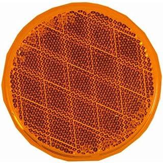 Blazer B38SA Round Stick-On Reflector, Amber