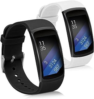 kwmobile 2X Pulsera Compatible con Samsung Gear Fit2 / Gear
