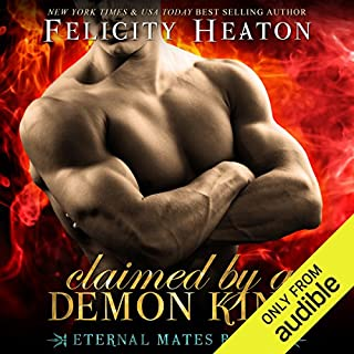 Claimed by a Demon King audiobook cover art