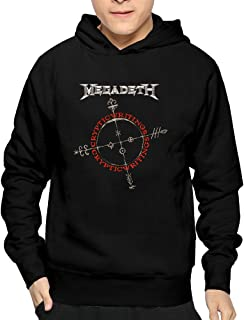 Men's Megadeth Cryptic Writings Hoodies Sweatshirt Awesome