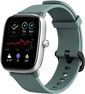 Amazfit GTS 2 Mini Super-Light Smart Watch with 14 Days' Battery Life, Built-in GPS, 70+ Sports Modes, SpO2 Level Measurem...