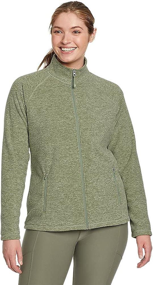 Eddie Bauer trust Women's Quest Fleece Full-Zip Raglan-Sleeve Max 83% OFF - Jacket