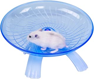 awtang Hamster Exercise Spinner Pet Exercise Running Wheel Toys for Gerbil Rat Chinchillas Guinea Pig Squirrel Small Animal