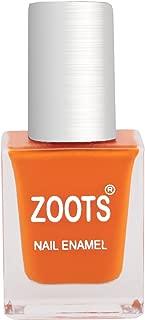 Zoots Plus Bright Orange Nail Paint