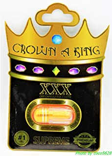 Crown A King (6) Pills Male Power Stamina Sexual Enhancement