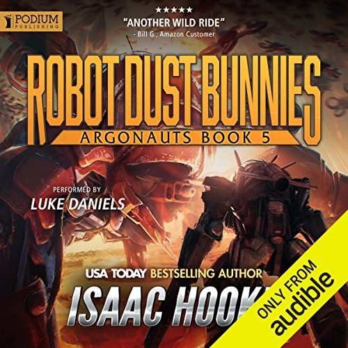 Robot Dust Bunnies audiobook cover art