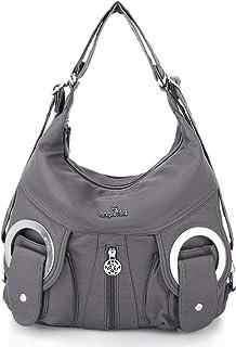 Angel Kiss Damen Handtasche Umhängetaschen Damenhandtasche Schultertasche Lederhandtasche Wasserdicht Tragetasche elegante...