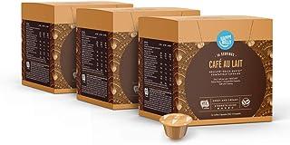 Happy Belly - Capsules de Café au Lait Compatibles avec NESCAFÉ Dolce Gusto - 48 Capsules (3 Paquets x 16) (48 portions)